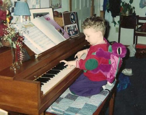 kory playing piano
